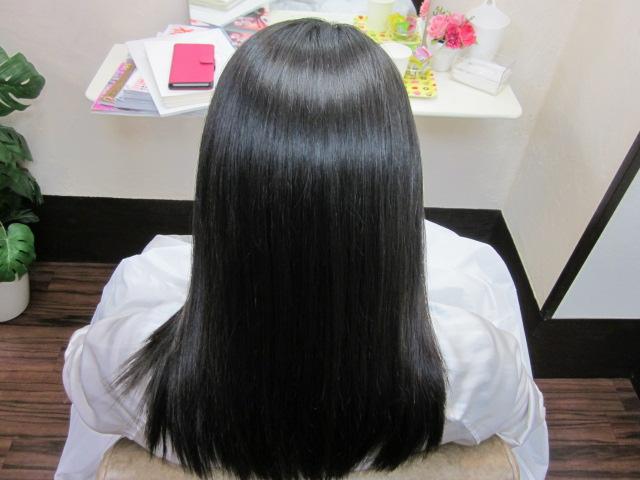 髪質改善「ストレートエステ」
