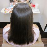 カラー毛の「髪質改善ストレートエステ」