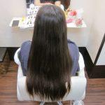 スーパーロング!! 「髪質改善カラーエステ」でキレイに♪
